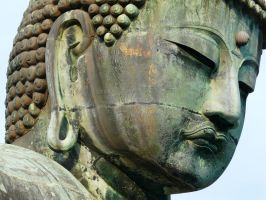 Tokyo 2009: Giant Buddha by Meagan-Marie