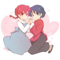 Ranma and Akane by Alyson676