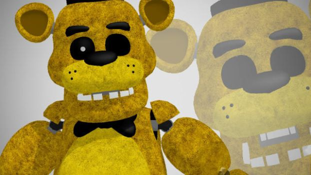 Golden Freddy by TheFuckingPuppet