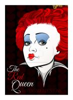 The Red Queen, (Re-work of an older drawing) by RavensSoulDesigns