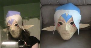 Fierce Deity's Mask by SasskyMaskSaleswoman