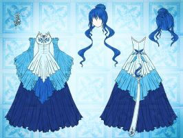 Spirit of Water Dress Design by Eranthe
