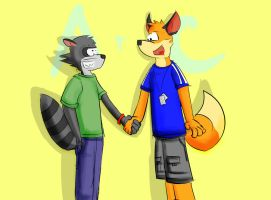 Aiden and Colin by shepFURd-DoG