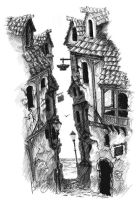 Old town by VneTWatnik
