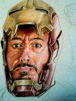 Iron Man 3 WIP by Galbatore