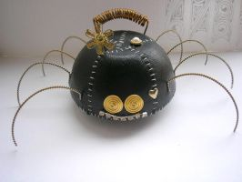 leather Crazy spider full by pushok1983