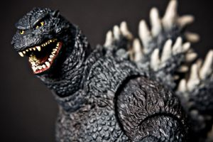 S.H. MonsterArts - Godzilla by Valentine-Photo