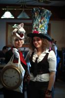 The Rabbit and the Mad Hatter by The-Prez