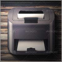 Printer icon by mysweetmaya