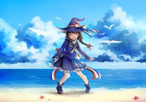The Great Blue Sea by revanche7th