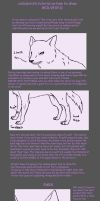 how to draw wolves tutorial by calicobird