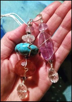 Crystal Pendants by andromeda