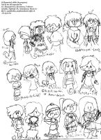 30 Requested Chibis part 1 by kakashicoke