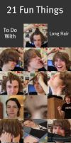 21 THINGS TO DO WITH LONG HAIR by WhovianForLife