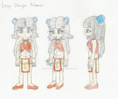 Grey Shujaa Reference by CotePowerRangers