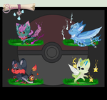 [CLOSED] Pokemon inspered Sloxou Auction by Miru-Studios