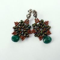 CLASSIC- Autumn earrings by AillilStudio