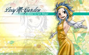 Levy McGarden Wallpaper by ZombieGirl01