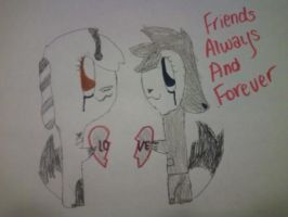 Friends Always And Forever by zebrasavvy
