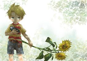 MOTHER3 lucas by ichiyon