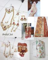 An India Bridal Set Jewelry by seawaterwitch