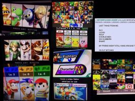 Super Smash bros wii u AND 3DS by malerfique