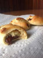 Nutella Stuffed Crescents by VioletRogue