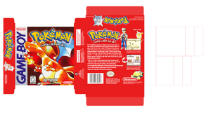 Pokemon Red Box Art by AlexMercury16