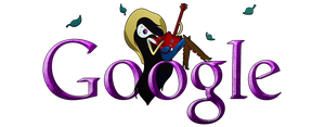 Adventure Time Google Logo 2 (+installation guide) by Albusonita