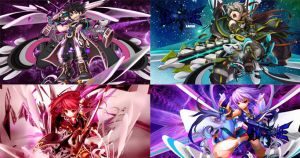 COMING SOON Grand Chase Background Pack (1366x768) by affereaflaw