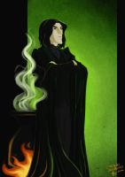 Severus Snape by emedeme