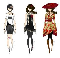 Fashion Designs by sachiriku