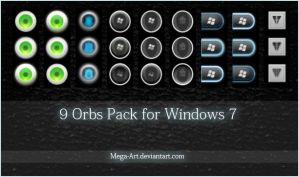 Orbs For Windows 7 by tutoriales13
