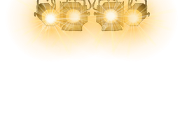 Stage Lights Png Clipart by clipartcotttage
