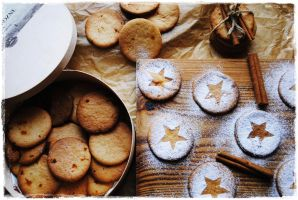 Starry cookies by SunnySpring