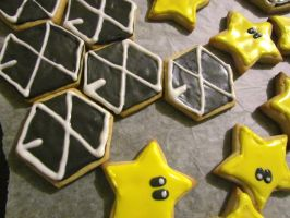 EXO and Mario cookies!!! by Devient-tart