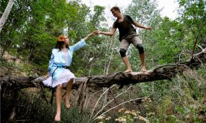Peter Pan and Wendy I by ajphoto
