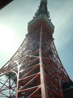 Tokyo Tower by thewordlesssignature