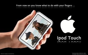 iPod Touch advert by i-visual