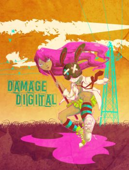 Damage Digital by onegreyelephant