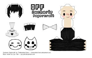 Zacharie [OFF] Papercraft by thenumber1hero