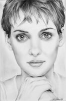 Winona Ryder . by CristinaC75