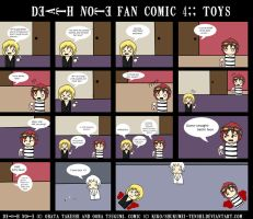 Death Note- Toys by shukumei-tenshi