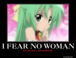 I fear no woman. except... by Gollum123
