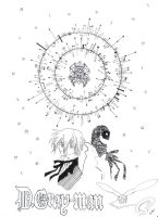 D.Gray-man-Allen and 14th by xin61593