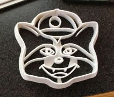 Custom Cookie Cutter - Omer by WarpzonePrints