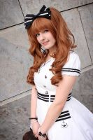Black and white Sailor II by Zhenya-Chan