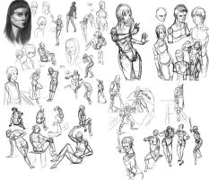 Digsketch dump 2014 1 by Vimes-DA