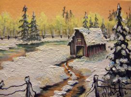 ACEO Barn #8 by annieoakley64