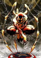 iron spider man by Mamachi